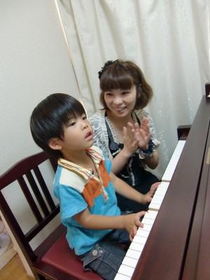 ピアノ教室の様子
